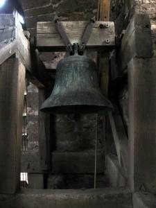 The Sanctus bell in Lindridge church