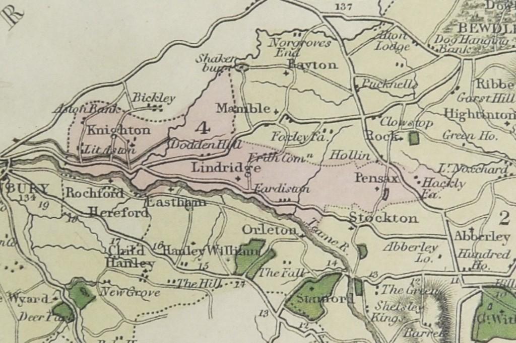 Lindridge Parish Boundary